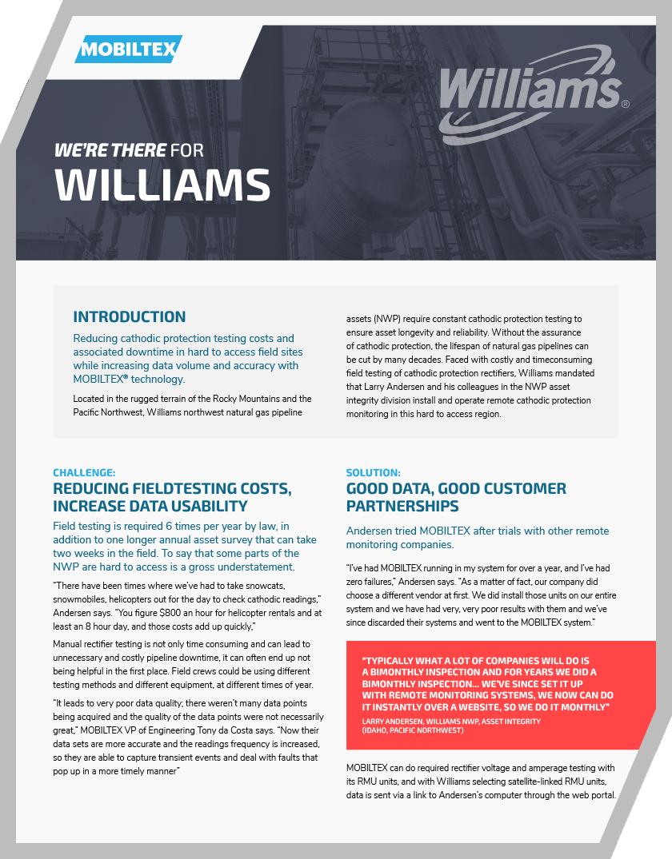 Williams-case-study